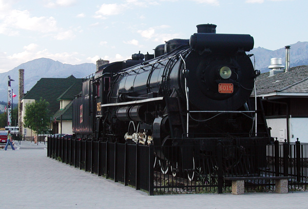 Jasper locomotive